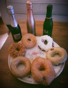 Champagne & Doughnuts